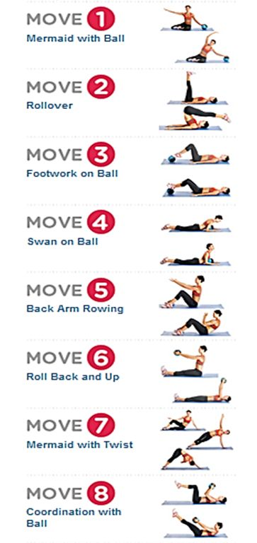 Flat Ab Pilates Workout -  Easy at home moves to slim your belly and tone your core http://www.womenshealthmag.com/fitness/pilates-exercise