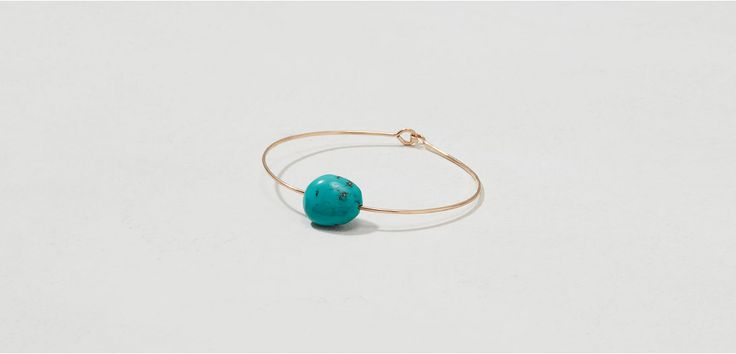 Shop Lou & Grey women's clothing for a comfortably confident life. You'll love our easy Mary MacGill Turquoise Cuff Bracelet - shop louandgrey.com today!