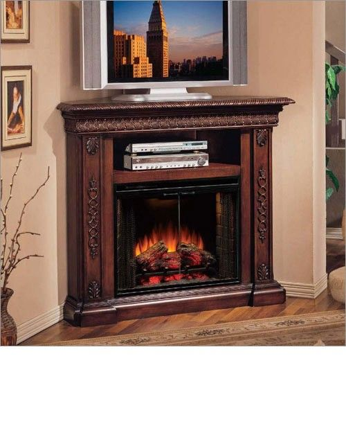 corner tv stands with fireplace entertainment   bar