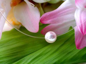 【一粒真珠のネックレス】