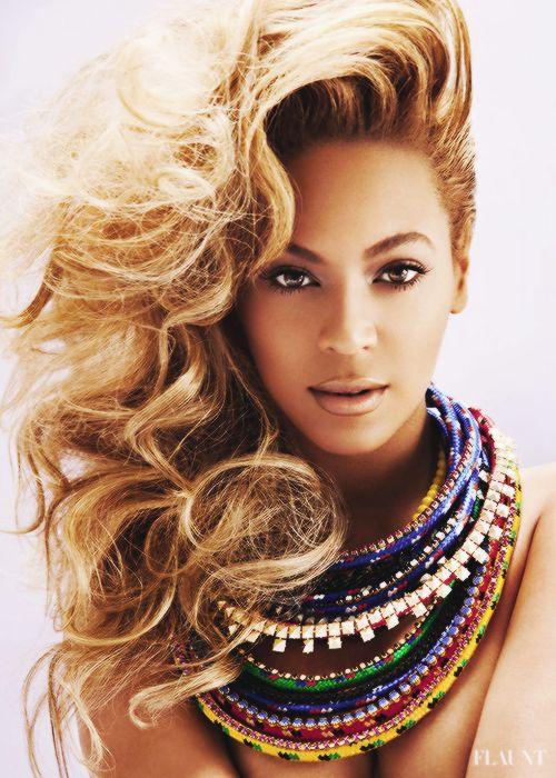 Beyoncé Covered In Sparkly Body Glitter On New Flaunt Magazine Cover