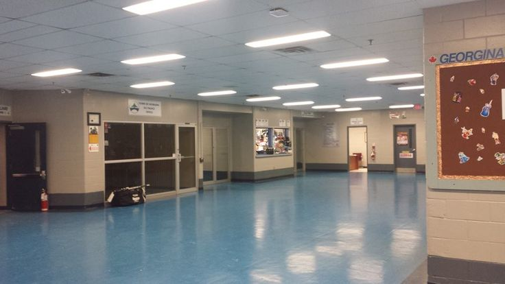 Spacious Hallway, with manager office for questions and inquiry, and concession stand
