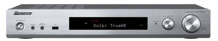 Pioneer VSX-S520D   6-Kanal-Slimline-Receiver (DAB+), Farbe: silber