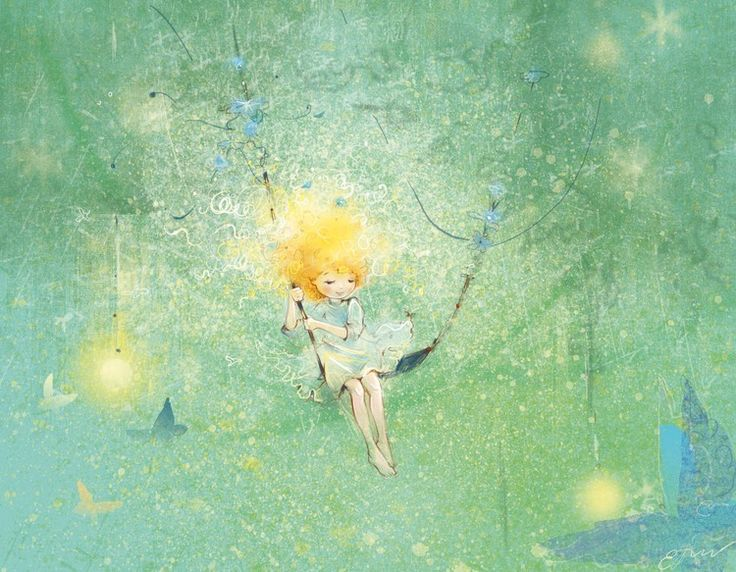 "Екатерина Бабок (Ekaterina Babok), ""светлячки"" (""Fireflies"")"