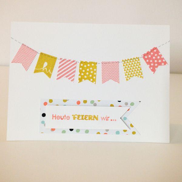 Einladungskarten - Einladung zum Kindergeburtstag - ein Designerstück von Herzdinge bei DaWanda