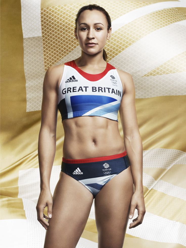 Jessica Ennis... she has the perfect female body in my opinion and she is an incredible heptathalete!  She runs fast, does shot put, high jump... everything!! Great inspiration!!