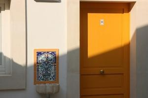 Let the sunshine in! This bright yellow door is only the beginning of a very warm welcome. It belongs to Hotel Sbarcadero in Siracusa, Italy, today's Favourite Hotel suggested by the ToucHotel Community.