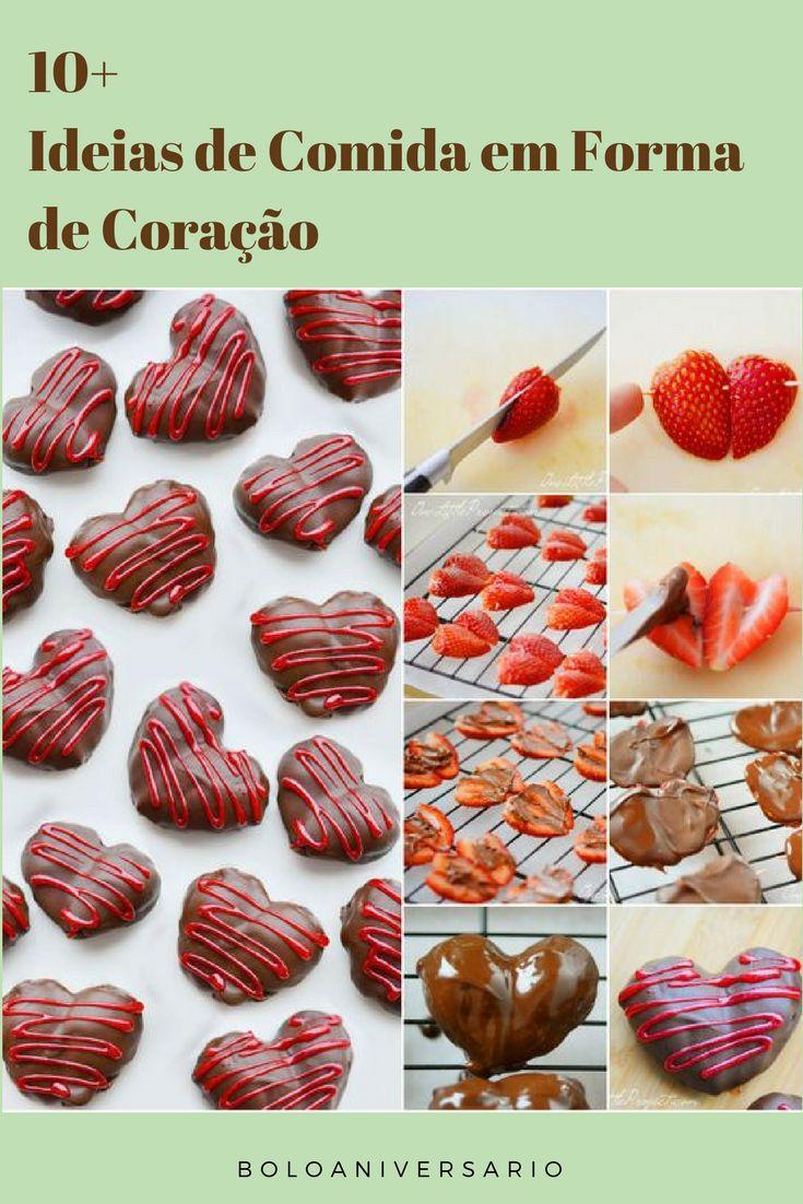 Comida em Forma de Coração