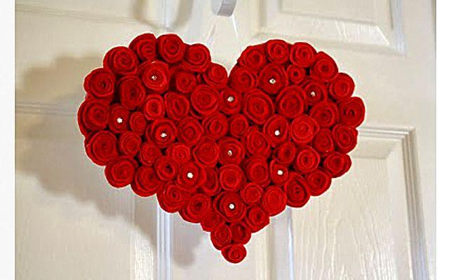 Делаем сами: Большое красное сердце