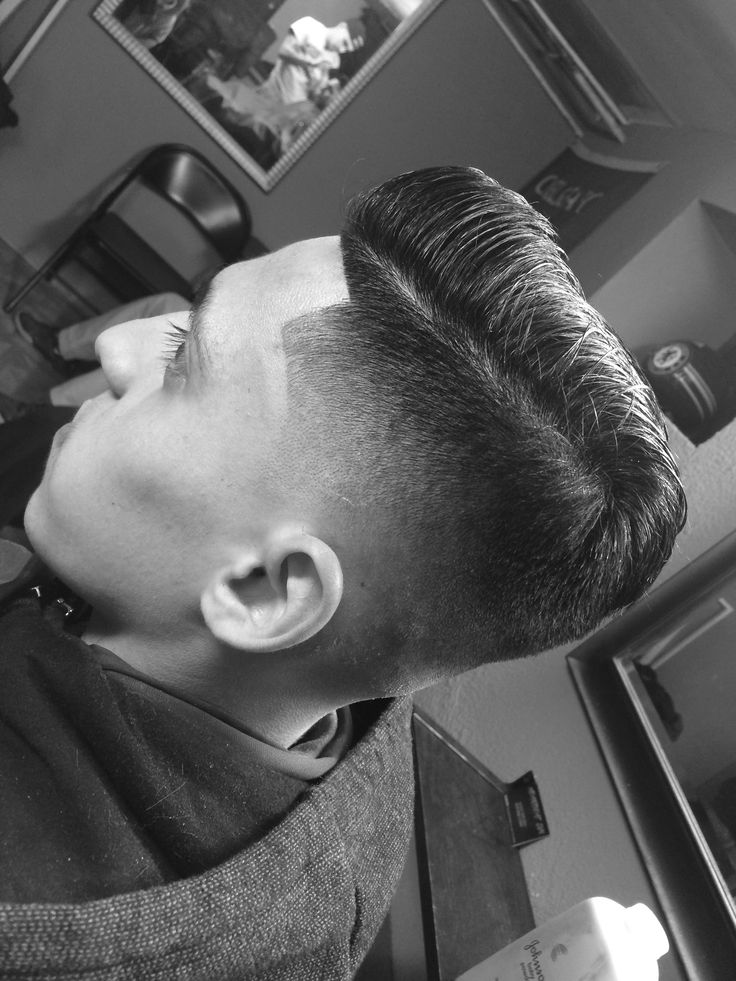 Low skin fade combover