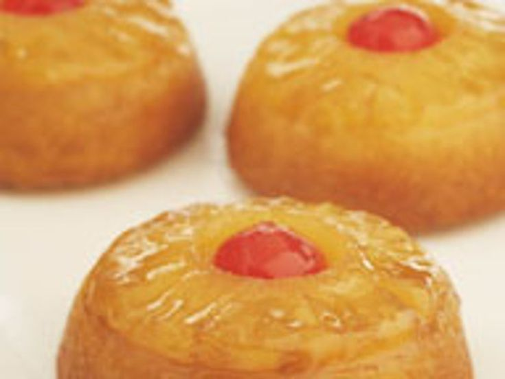 Learn more about Dole's recipe for Pineapple Upside Down Minis. Explore this recipe and more on the new Dole Sunshine site where fresh creations are never far away!)