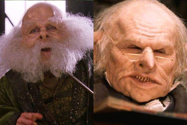 12 Actors Who Secretly Played Two Characters In The Same Film Warwick Davis Harry Potter Actors Warwick Davis
