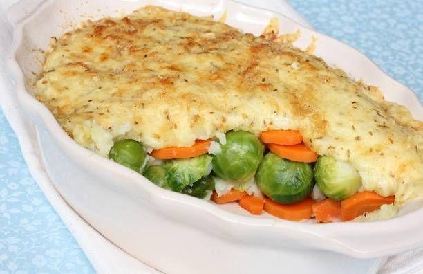 Recept voor Ovenschotel van spruitjes en wortel | Vers van de Teler