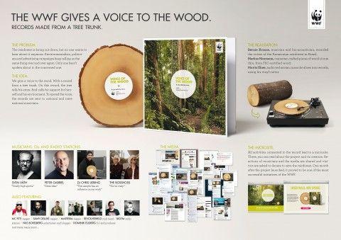 Voice of the wood | World Wildlife Fund (WWF) | Jung von Matt