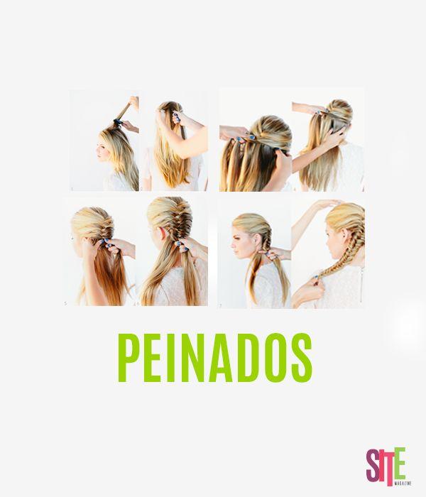 Chicas, acá les dejamos un tip para que se vean más bellas de lo que son   #moda #look #peinados