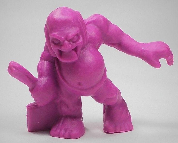 Monster in my Pocket - Series 1 - 37 Ghoul - Neon Purple NP MEG MIMP
