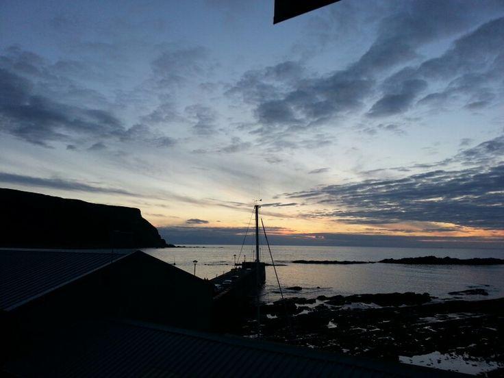 Tonight's livingroom window sunset (14th Aug).