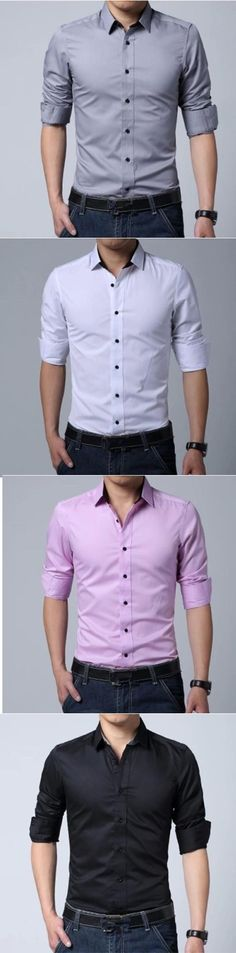 """#Camisas para hombre de LightInTheBox. ¿Qué color les viene mejor?"""""""