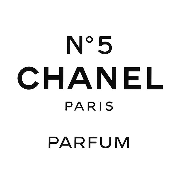 chanel number 5 perfume label graphic - Google Search