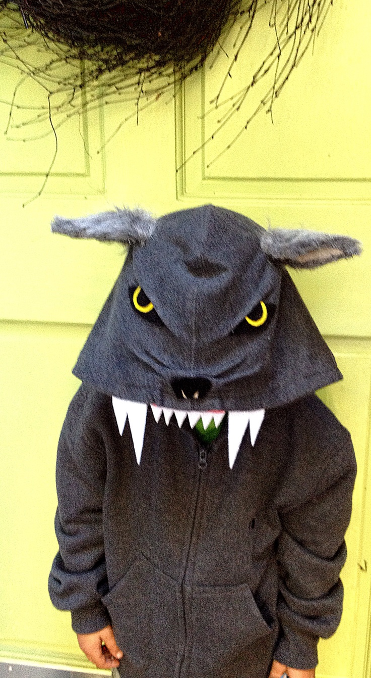 wolf costumealmost complete - Halloween Wolf Costume