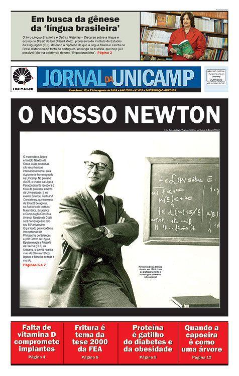 Newton da Costa, um cientista incansável,  recebe título de professor emérito