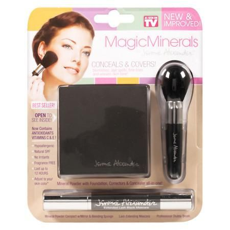 As Seen On TV Jerome Alexander MagicMinerals Make Up Set - 1 ea