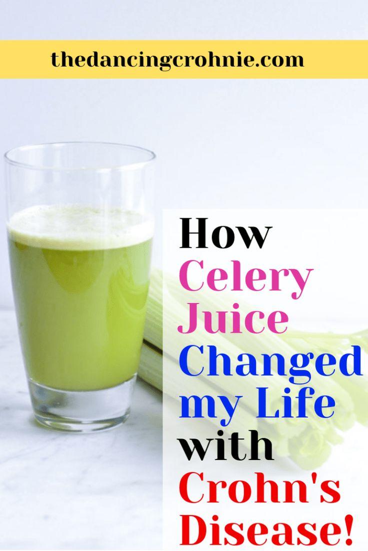 How Celery Juice Changed My Life with Crohn's Disease