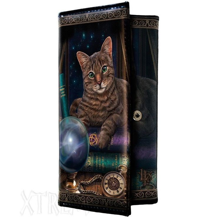 Monedero Gato de la Fortuna #lisa #parker #gato #cat #magia #magic #fantasy #fantasia #wallet #billetera #xtremonline