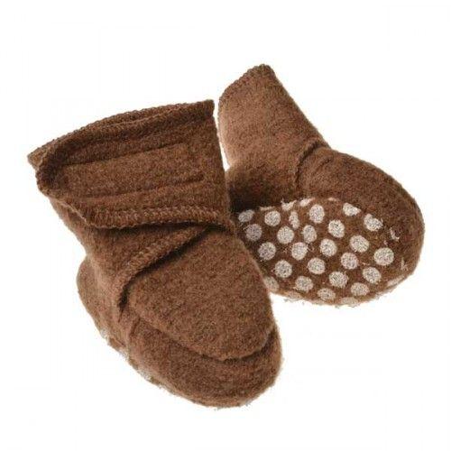 Uld sko, Brun, Disana - Baby og børnetøj