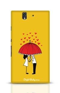 Love Couple Sony Xperia Z Phone Case