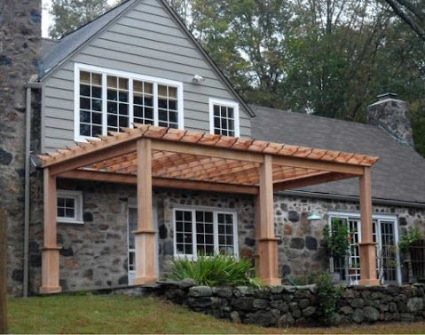 The 25+ best ideas about Pergola Attached To House on Pinterest | Back  patio, Pergola patio and Attached pergola - The 25+ Best Ideas About Pergola Attached To House On Pinterest