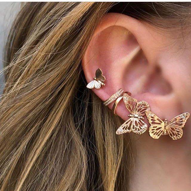 """Green Earrings EMERALD Mix Stones Stud Post Earrings 0.6/"""" 925 Silver Jewelry"""