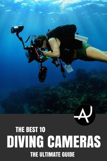 Diving Camera Reviews: Find out what's the best underwater camera for scuba diving that fits your needs better with this easy-to-read guide. #UnderwaterCamera