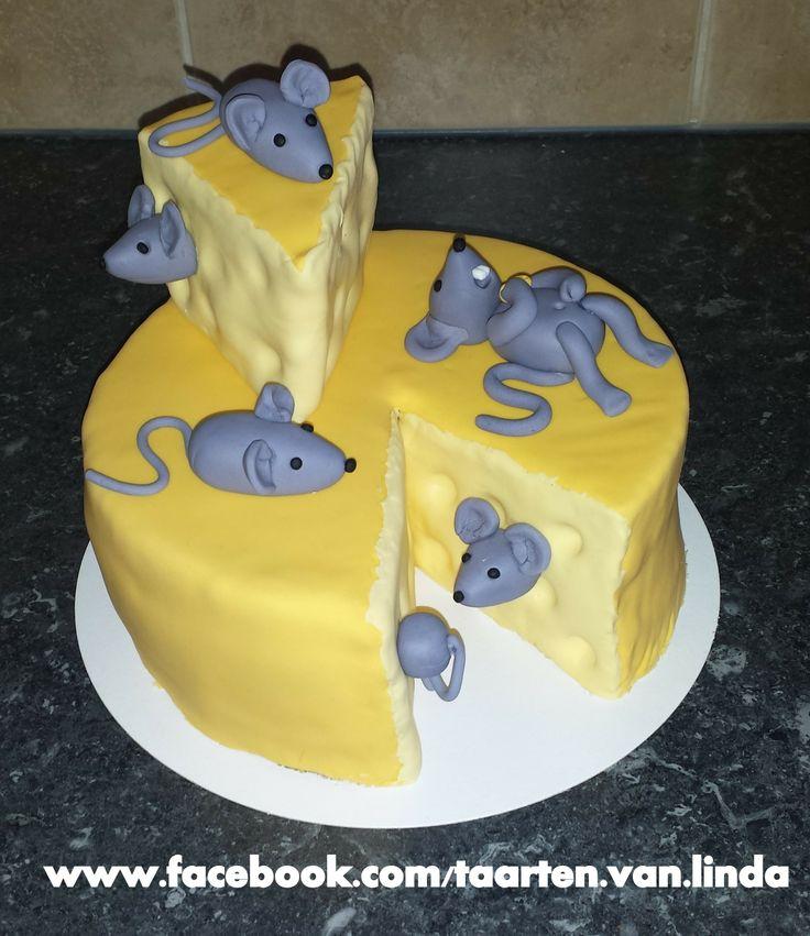 Pepper Birthday Cake