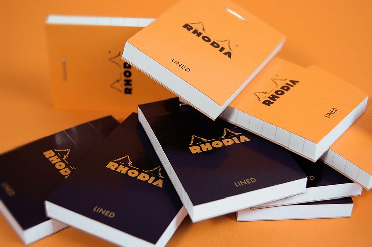 Rhodia Bloc memo is pad a trustworthy tool for your daily notes and scribbles whether you are at the office or en route. The Block N°10 pad is very small and suitable for situations where you need small paper notes.