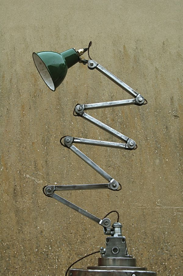 Beautiful vintage retro metal industrial style lamp retro – We collect similar ones – Only/Once – www.onlyonceshop.com