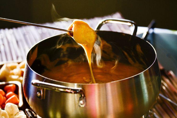 Aged Cheddar & Guinness Fondue | cookery | Pinterest
