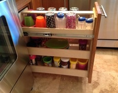 Retrofit your cabinets without doing a full remodel to make your kitchen more accessible without blowing your budget