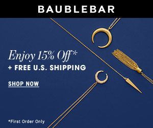Love Baublebar accessories so fun and feminine!!! Get 15% off and free US shipping!! #baublebar #jewelry #accessories #fashion #earrings #rings #jewelry #fall fashion #raw fashion magazine #baublebar #promo code #coupon code #discount #sale #fashion accessories #luxury #glamorous #style #chic