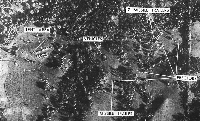 1962 10 14 u2 overflight photos begin the cuban missle crisis