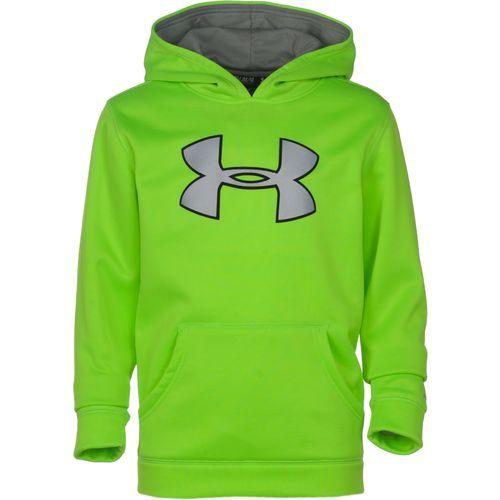 Under armour boys storm big logo hoodie