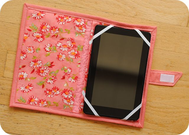 tablet/e-reader cover tutorial by Clover and Violet.