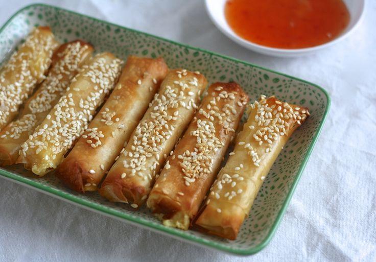 Sesam-kaasstengels uit de oven