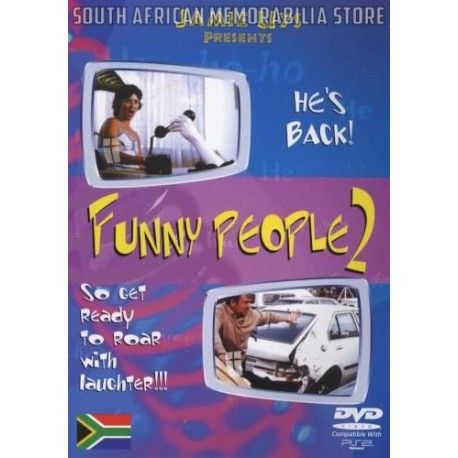 Jamie Uys - Funny People 2 - South African Classic Comedy DVD *New* - South African Memorabilia Store