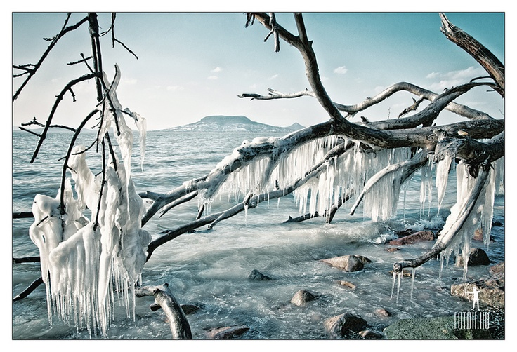 Ice - Balaton - Hungary