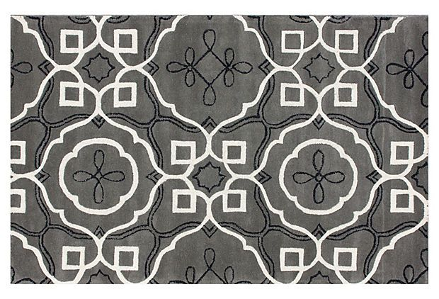 Madrid Rug, GrayOne King Lane, Onekingslane Com, Black Rugs, Madrid Rugs, Wool Rugs, White Rugs, Families Room, Gray, Bedrooms Inspiration