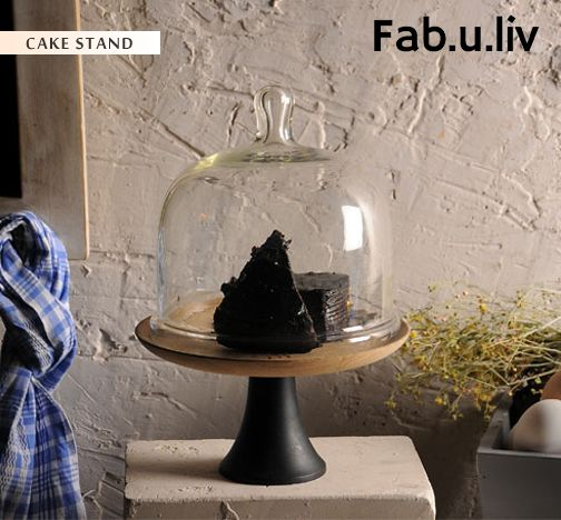 Hosting a high tea party? Buy this cake stand online for that perfect look. This cake stand is sure to win compliments from your friends. Displaying your choicest cookies, muffins and cake in this cake stand will not only add glam quotient but also keep your food safe from flies and another insects -- https://goo.gl/EB8kcz