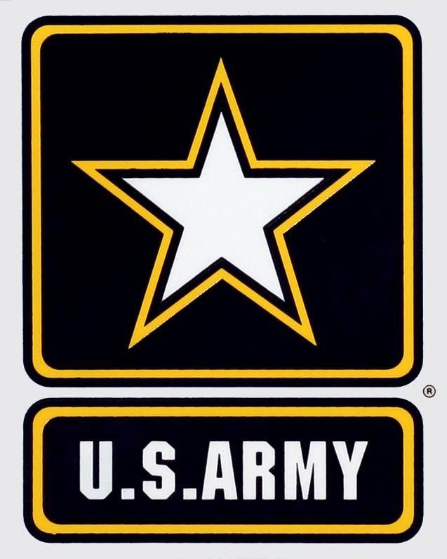 US Army Star Logo Decal   North Bay Listings
