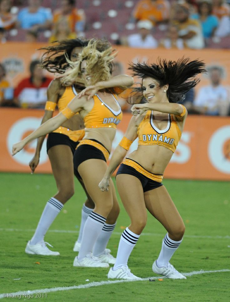Houston Dynamo cheerleaders