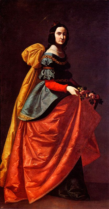 ZURBARAN Histoire de l'art - Les mouvements dans la peinture - L'art baroque